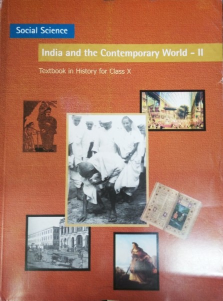 History India And The Contemporary World II Class 10th  (Paperback, ncert)