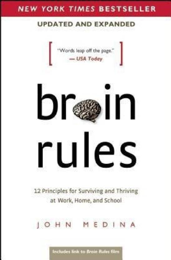 Brain Rules (Updated and Expanded)  (English book Paperback by Medina John)