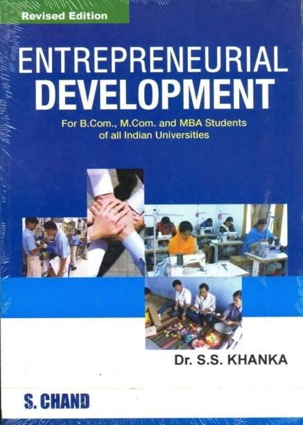 Entrepreneurial Development  (English, Paperback, Khanka S. S.)