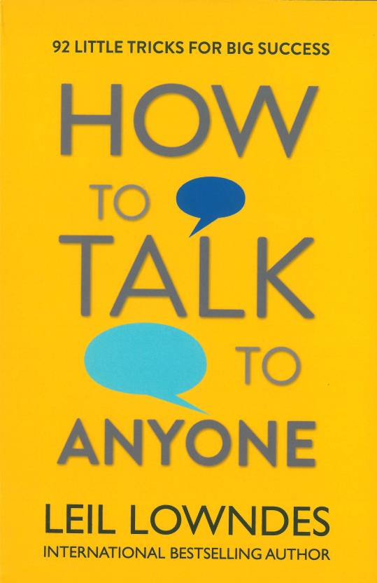 How to talk to anyone  (English, Paperback, Leil Lowndes)