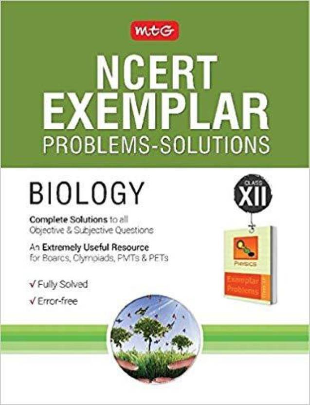 NCERT Exemplar Problems - Solutions Biology Class 12 2017 Edition