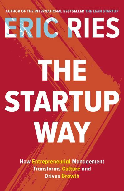 The Startup Way  (English, Paperback, Ries Eric)