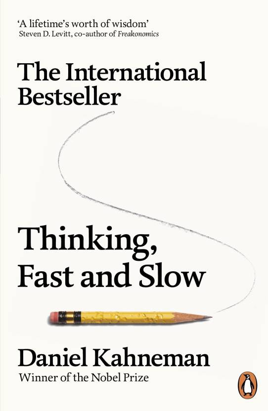 Thinking, Fast and Slow  (English, Paperback, Kahneman Daniel)
