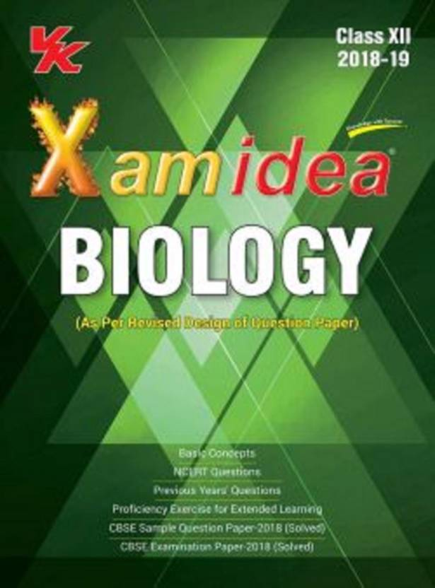 Xam Idea Biology Class 12  (English, Paperback, Editorial Board)