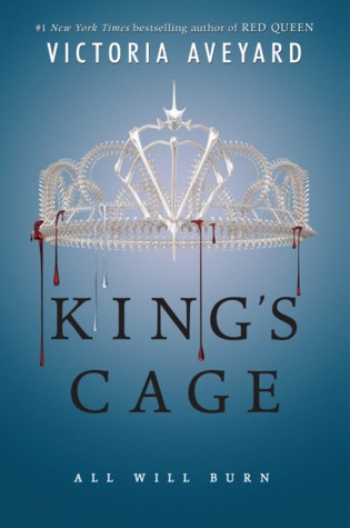 Kings Cage Novel by Victoria Aveyard (Red Queen #3)