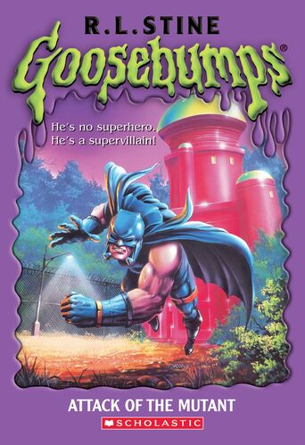 Attack of the Mutant by R. L. Stine Goosebumps