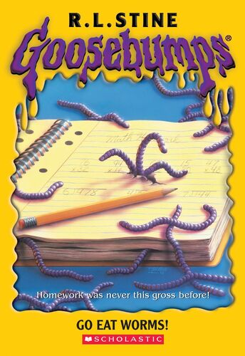 Goosebumps Go Eat Worms by R.L.Stine ebook