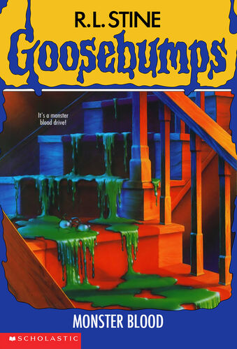 Goosebumps Monster Blood by R.L.Stine