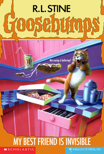 Goosebumps My Best Friend is Invisible by R.L.Stine