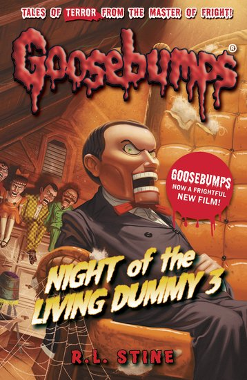 Goosebumps  Night of the Living Dummy 3 by R.L.Stine