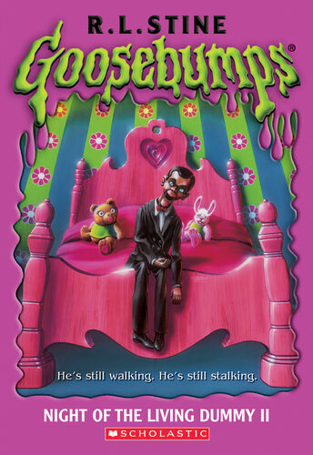 Goosebumps Night of the Living Dummy 2 by R.L.Stine