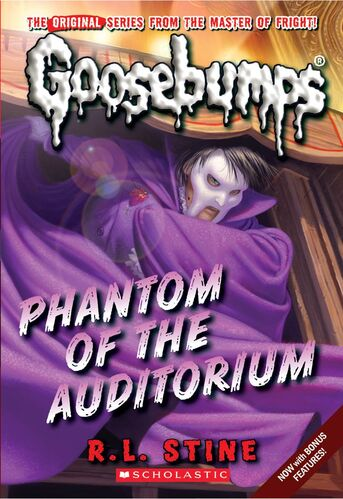 Goosebumps  Phantom of the Auditorium by R.L.Stine