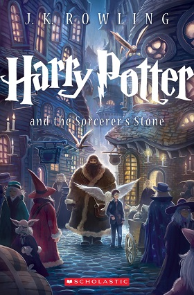 Harry Potter and the Sorcerer Stone  by J.K. Rowling