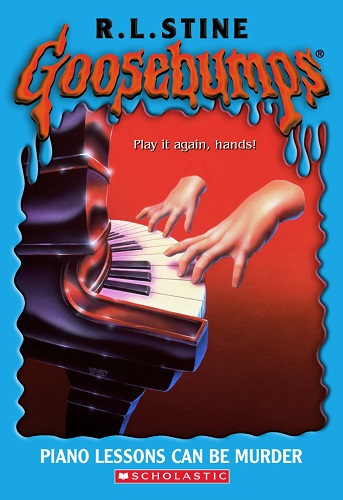 Goosebumps Piano Lessons Can Be Murder by R.L.Stine