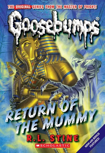 Goosebumps Return of the Mummy by R.L.Stine
