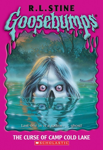 Goosebumps The Curse of Camp Cold Lake by R.L.Stine