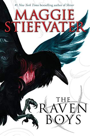 The Raven Boys by Maggie Stiefvater ,The Raven Cycle #1