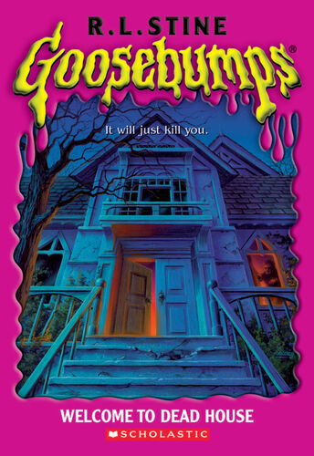 Goosebumps Welcome to Dead House by R.L.Stine