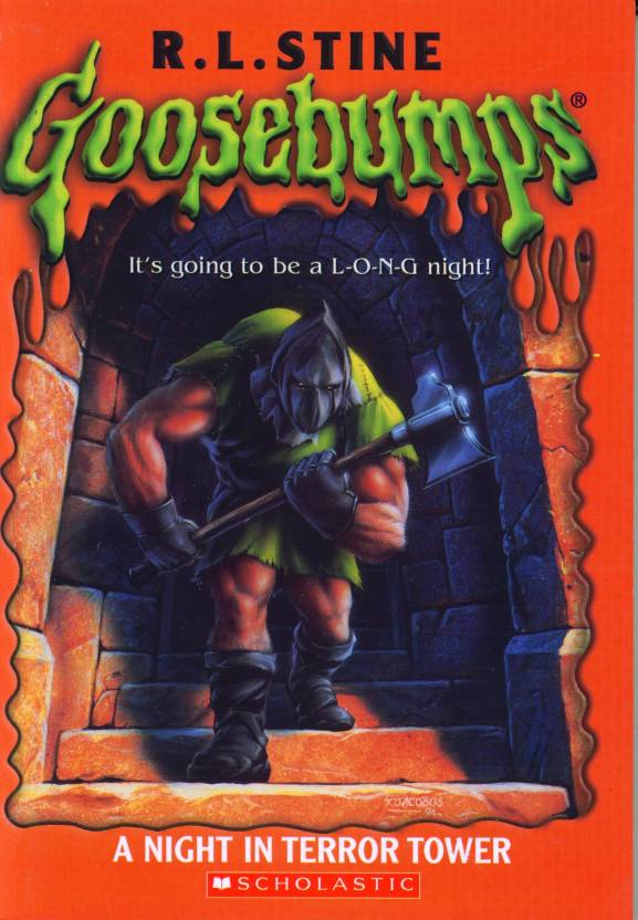 A Night in Terror Tower by R. L. Stine Goosebumps - 27