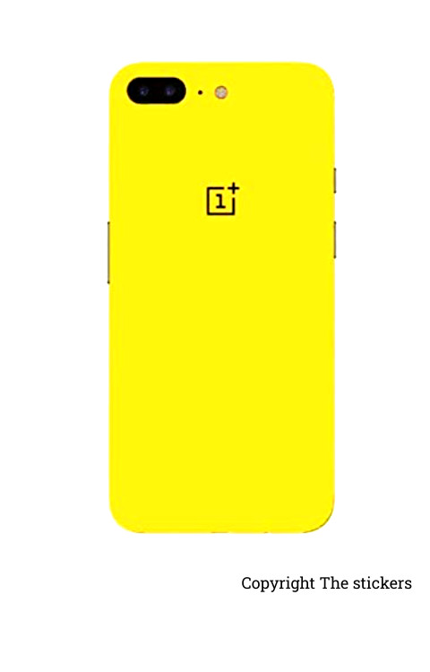 Oneplus wrapping paper shining yellow with logo  - The stickers