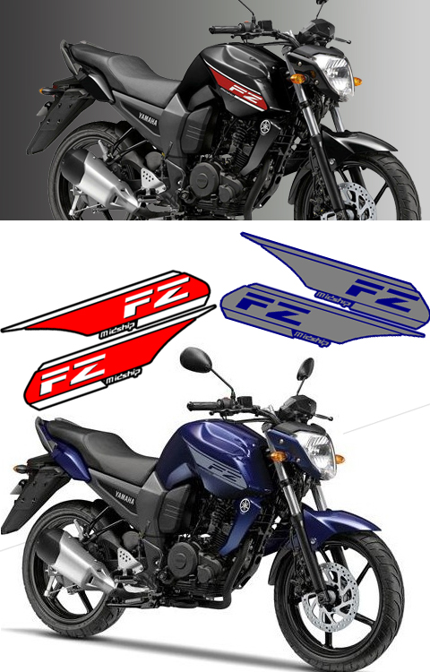 YAMAHA FZ VERSION1 ORIGINAL STICKER