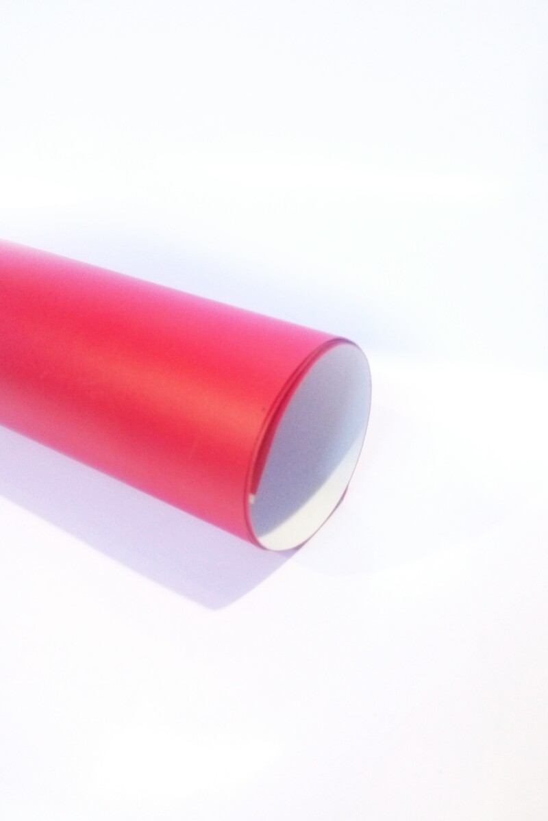 Vinyl paper Red Matte color High Quality Size 100cm ( 1sqr ft.)