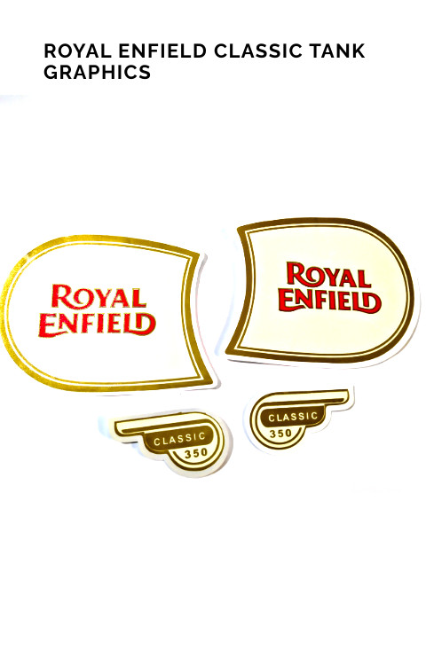 Royal Enfield Bullet Tank Graphics