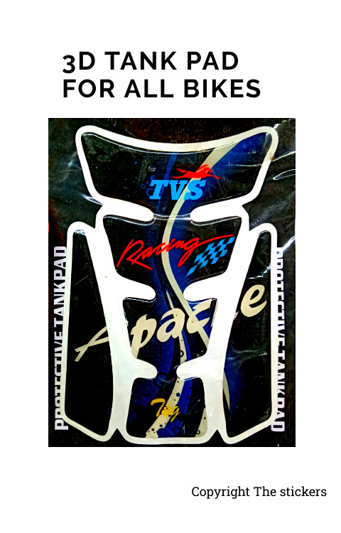 Tank Pad For All Bikes Pulsar, Bullet, KTM,R15 - The Stickers