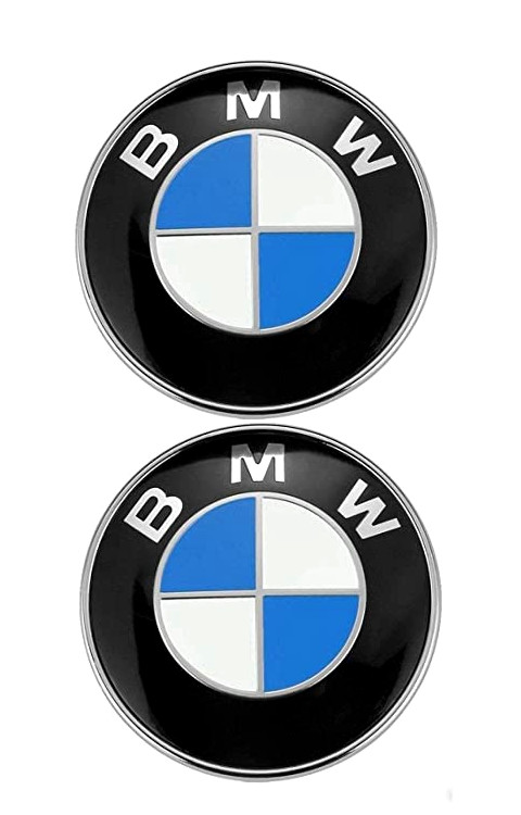 BMW 3D Rubber Logo stickers 3x3.0 inch for mobile, laptop and bike - The Stickers