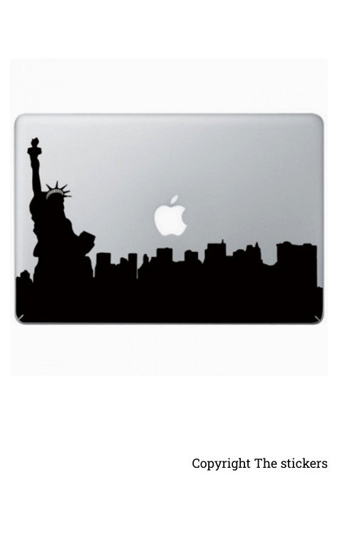 Laptop stickers matte black - The stickers