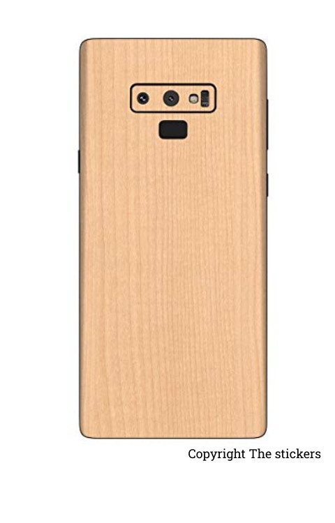 Wooden skin paper for Redmi, Realme, Oppo, Vivo,Honor - The stickers