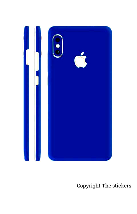 Iphone wrapping Paper Shining blue for All mobile - Redmi, Realme, Oppo, Vivo,Honor - The stickers