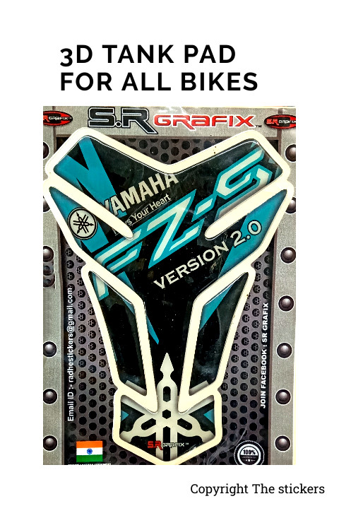 Tank Pad For Yamaha FZ/FZS - The Stickers
