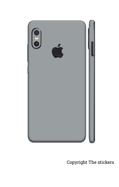 Iphone Paper Matte grey for All mobile - The stickers