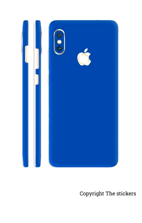 Iphone Paper Matte Blue for All mobile - The stickers