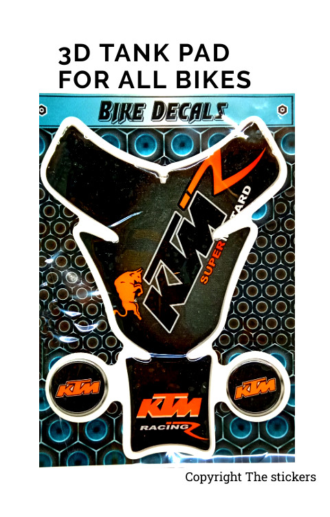 Tank pad Graphics For KTM - The Stickers