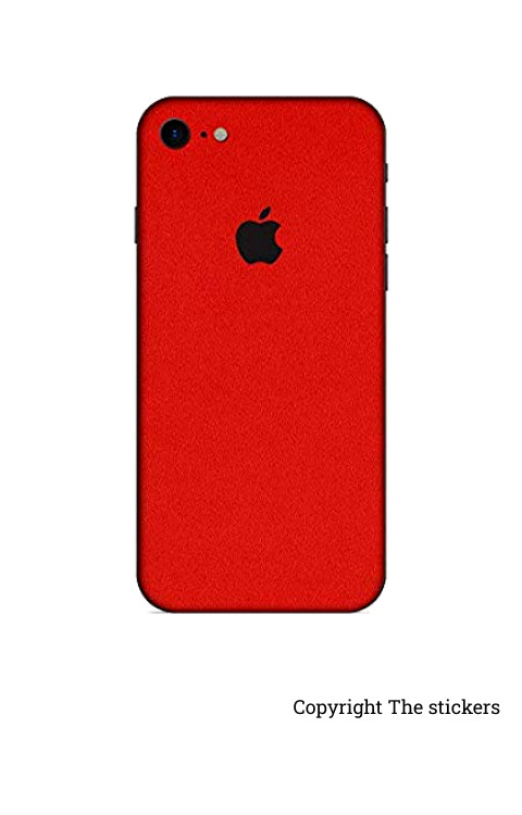 Iphone Paper Matte red for All mobile - The stickers