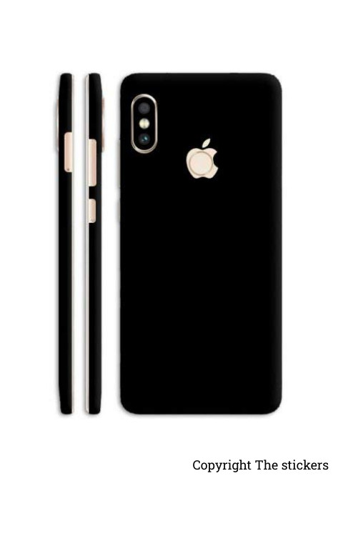 Iphone Paper Matte black for All mobile - The stickers