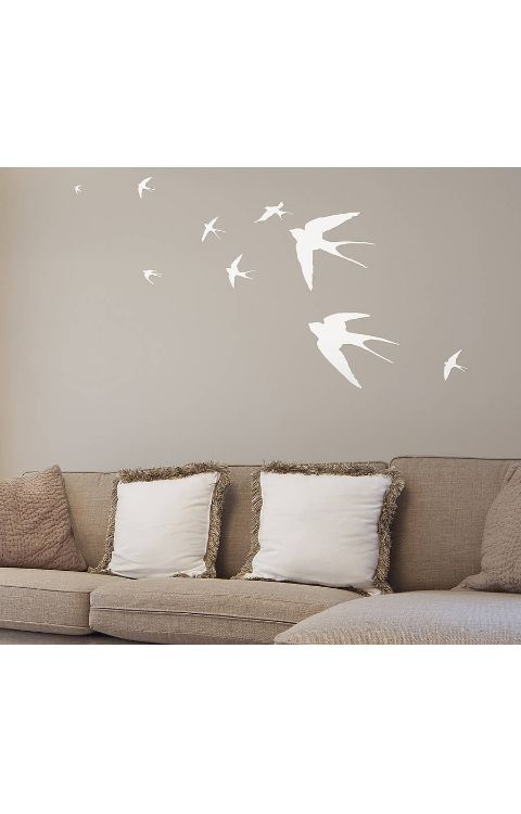 Parrot Wall Stickers 120cm x 60cm - The stickers