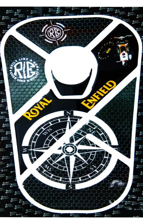 Royal Enfield bullet Tank Pad (RE Since 1901) - The Stickers