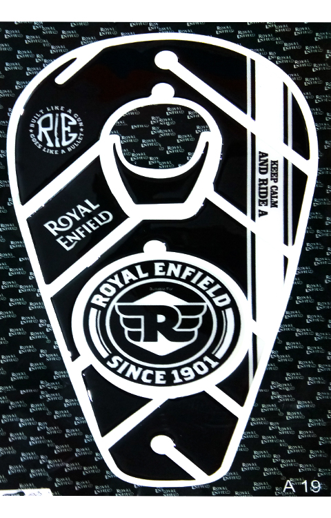 Royal Enfield Tank Pad (RE Since 1901) - The Stickers