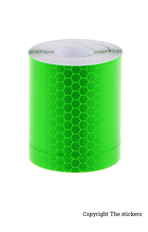 High Quality Retro Radium Tape Green (2inch x 5ft) - The stickers