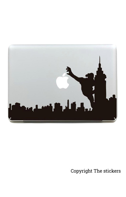 Laptop graphics matte black - The stickers