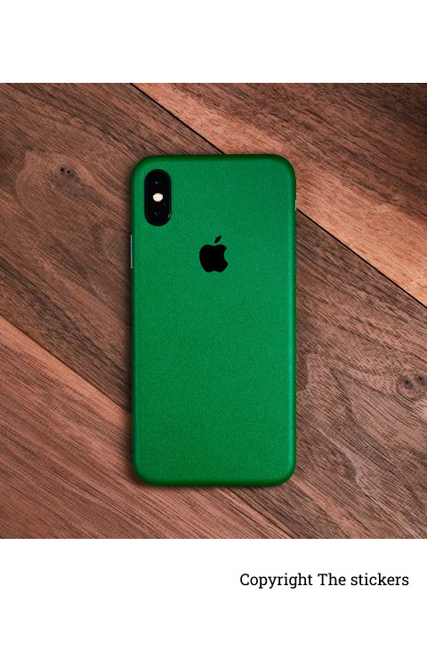 iphone lamination Paper Matte Green for Redmi, Realme, Oppo, Vivo,Honor - The stickers