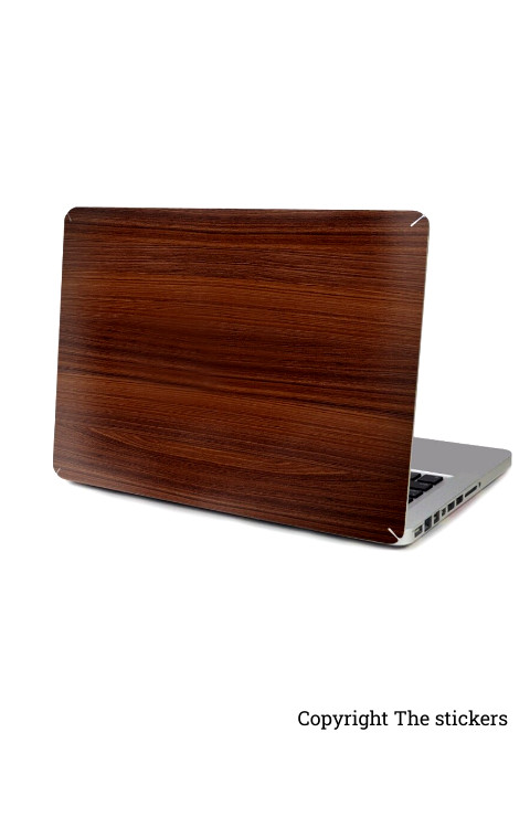 Laptop wooden skin for any laptop - The stickers