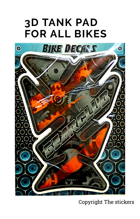 Tank pad Graphics For Any Bikes - The Stickers