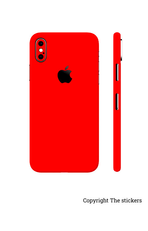 Iphone Paper Shining red for All mobile - Redmi, Realme, Oppo, Vivo,Honor - The stickers