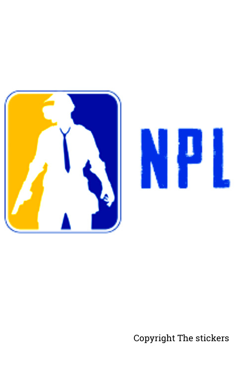 PUBG Npl stickers for mobile, laptop and bike - The Stickers