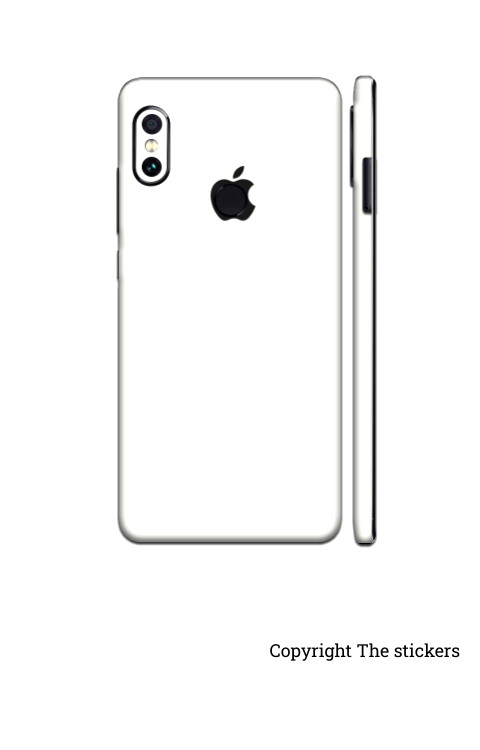 Iphone wrapping Paper Shining white for All mobile - Redmi, Realme, Oppo, Vivo,Honor - The stickers