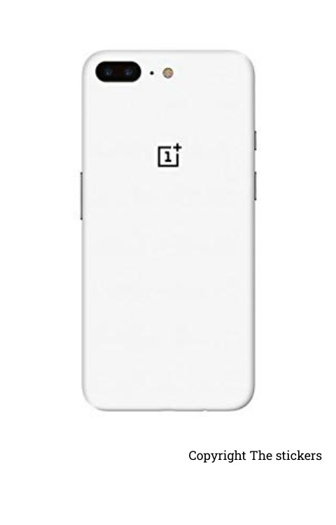 Oneplus wrapping paper shining white with logo  - The stickers